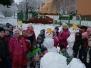 Sněhové hrátky leden 2015